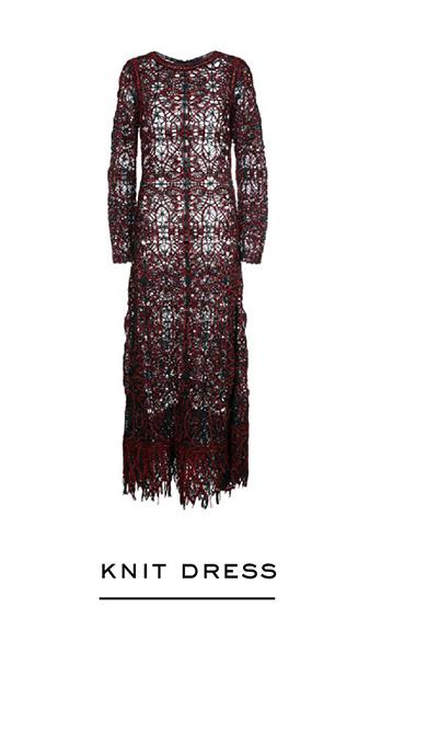 Birdsnest Knit Dress