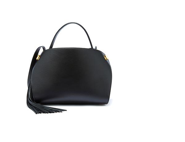Black Leather Nolo Bag