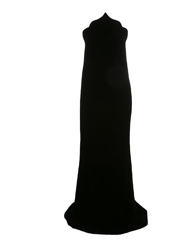 Arabesque Velvet Gown