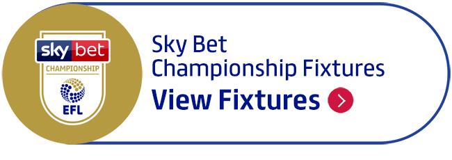 Sky Bet Championship Fixtures