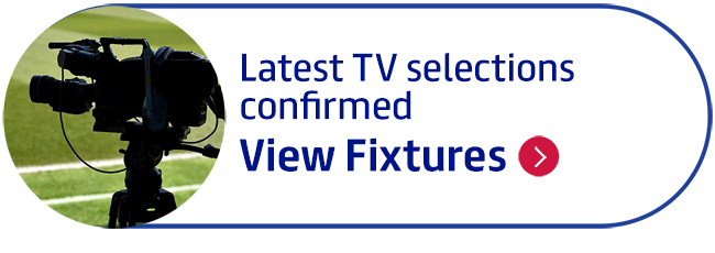 Latest TV selections confirmed