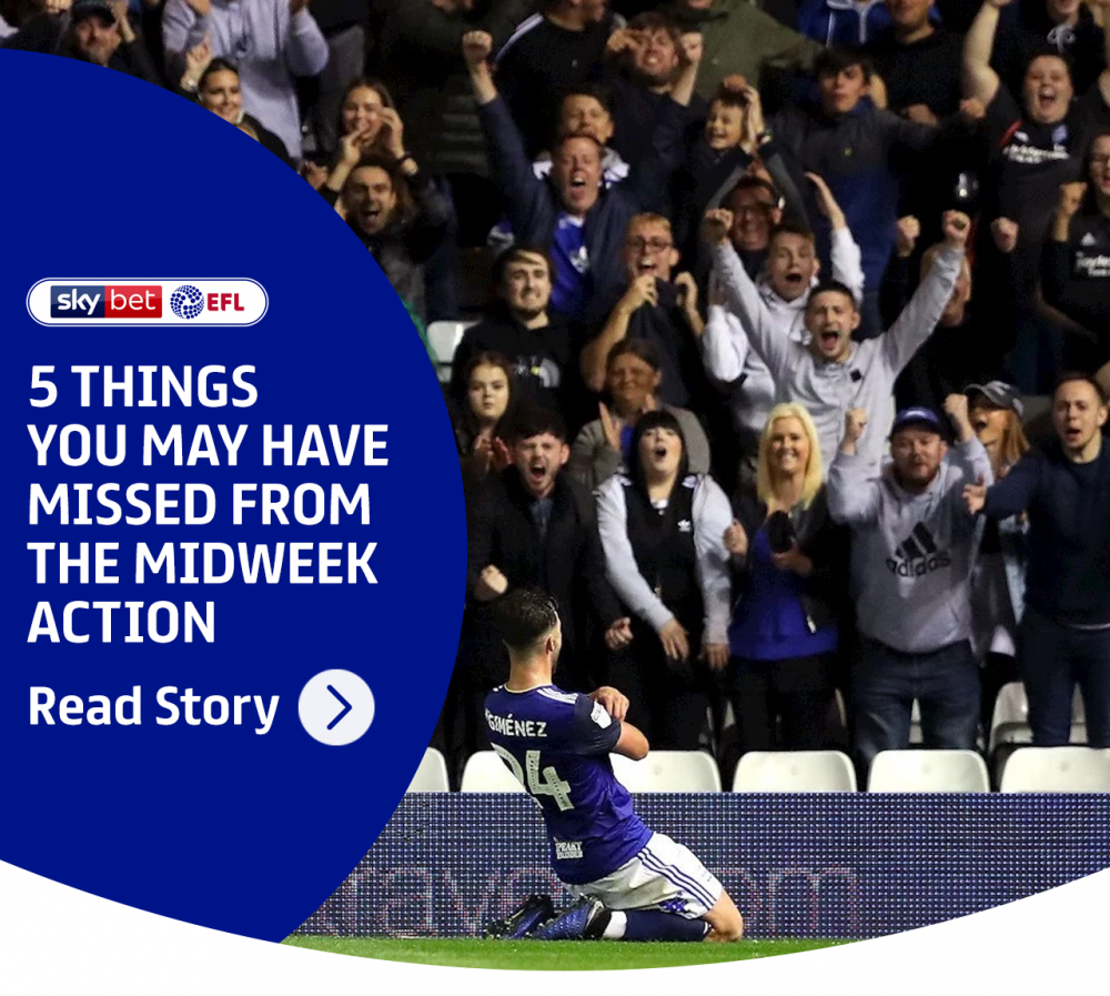 5 things you may have missed from the midweek action