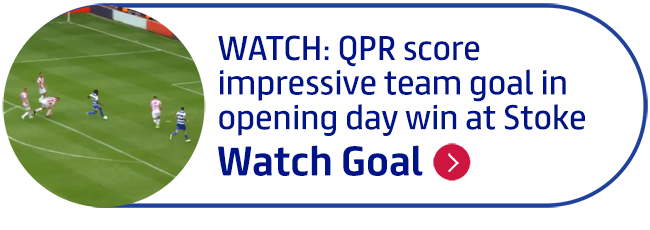 WATCH: QPR score impressive team goal in opening day win at Stoke
