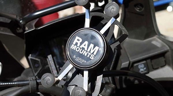 MotorcyclePhoneMount