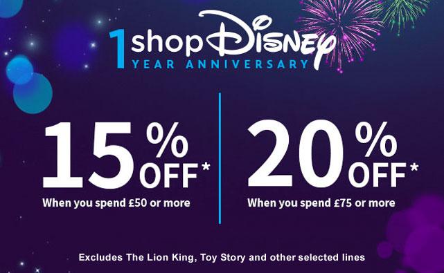 1 year anniversary shop Disney