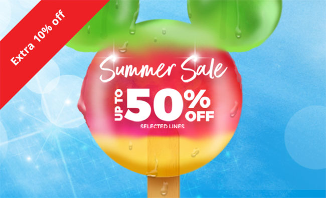 Summer Sale up to 50% off selected lines