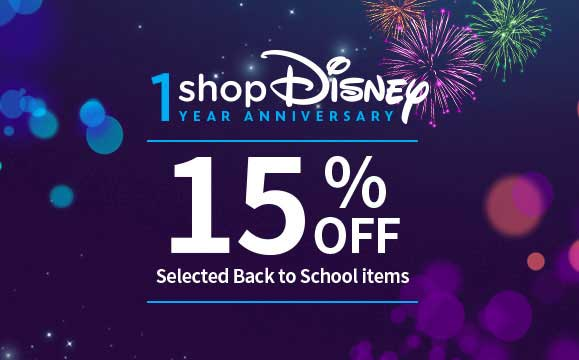 15% off selected Back to School items