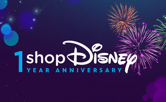 shopDisney 1 year anniversary
