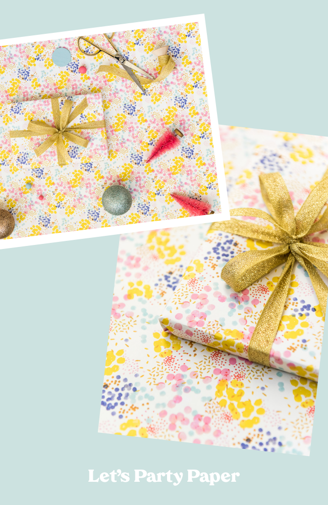 Sequins Wrapping Paper