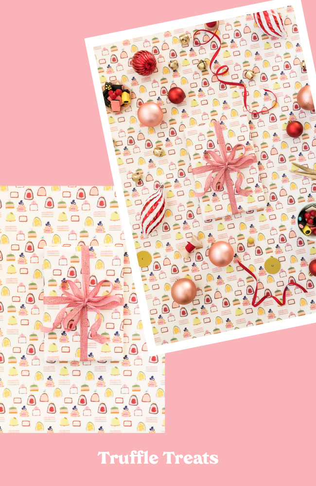 Truffles Wrapping Paper