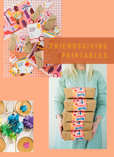 Friendsgiving printables on shop