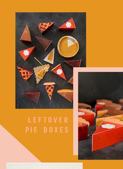 Pie Box in Shop