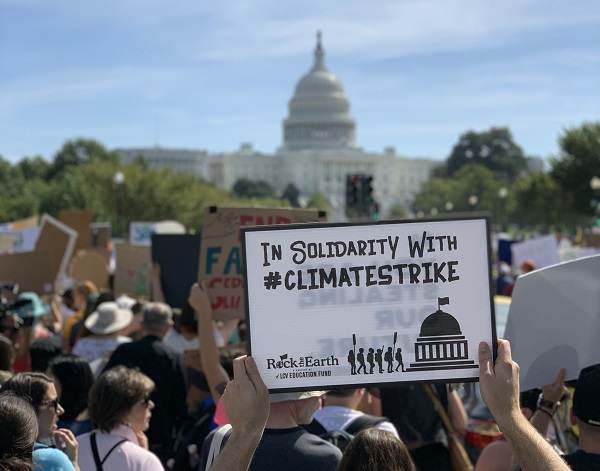 In Solidarity with #climatestrike