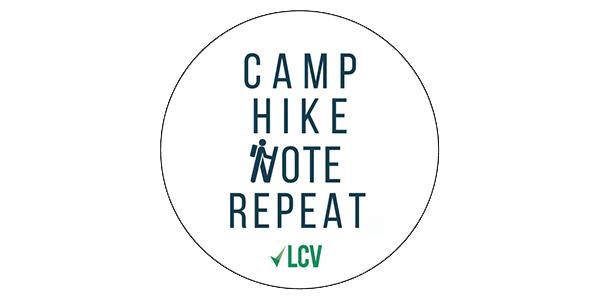 Camp Hike Vote Repeat