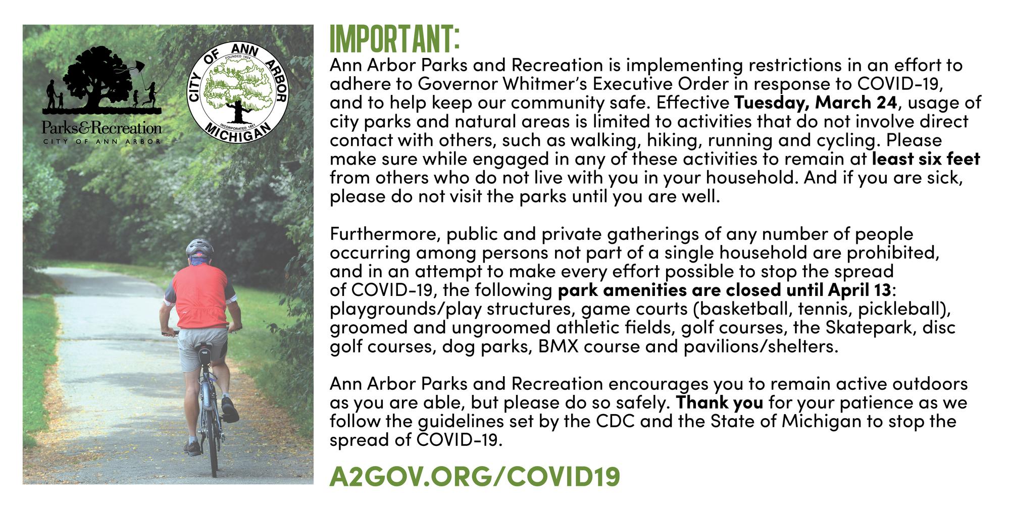 park restrictions