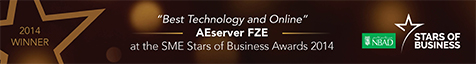 AEserver won SME Stars of Business Awards 2014!