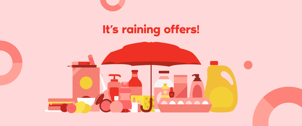 It''s raining offers!