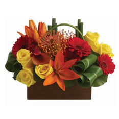 Petals Getaway Arrangement, on sale now