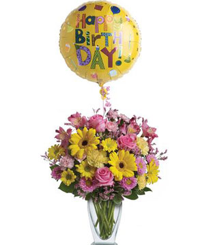 Birthday Blooms Are $10.00 OFF!