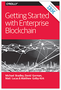 Getting Started with Enterprise Blockchain cover