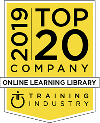 2019 Top Online Learning Company logo