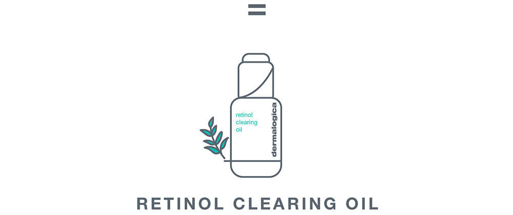 retinol cearing oil