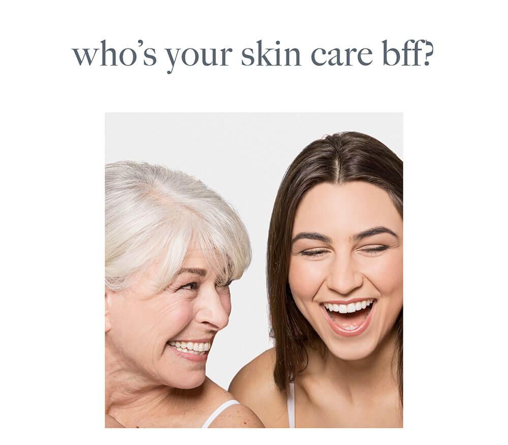 skin care best friends