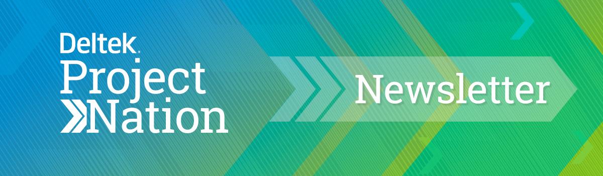 Deltek Project Nation Newsletter