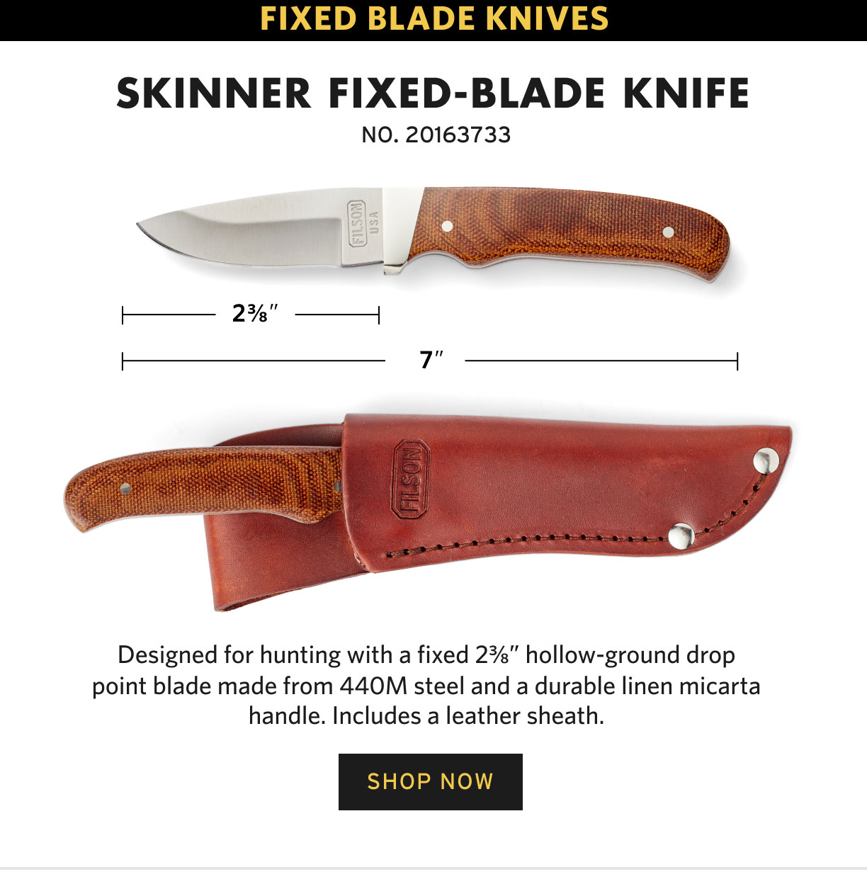 SHOP KNIVES