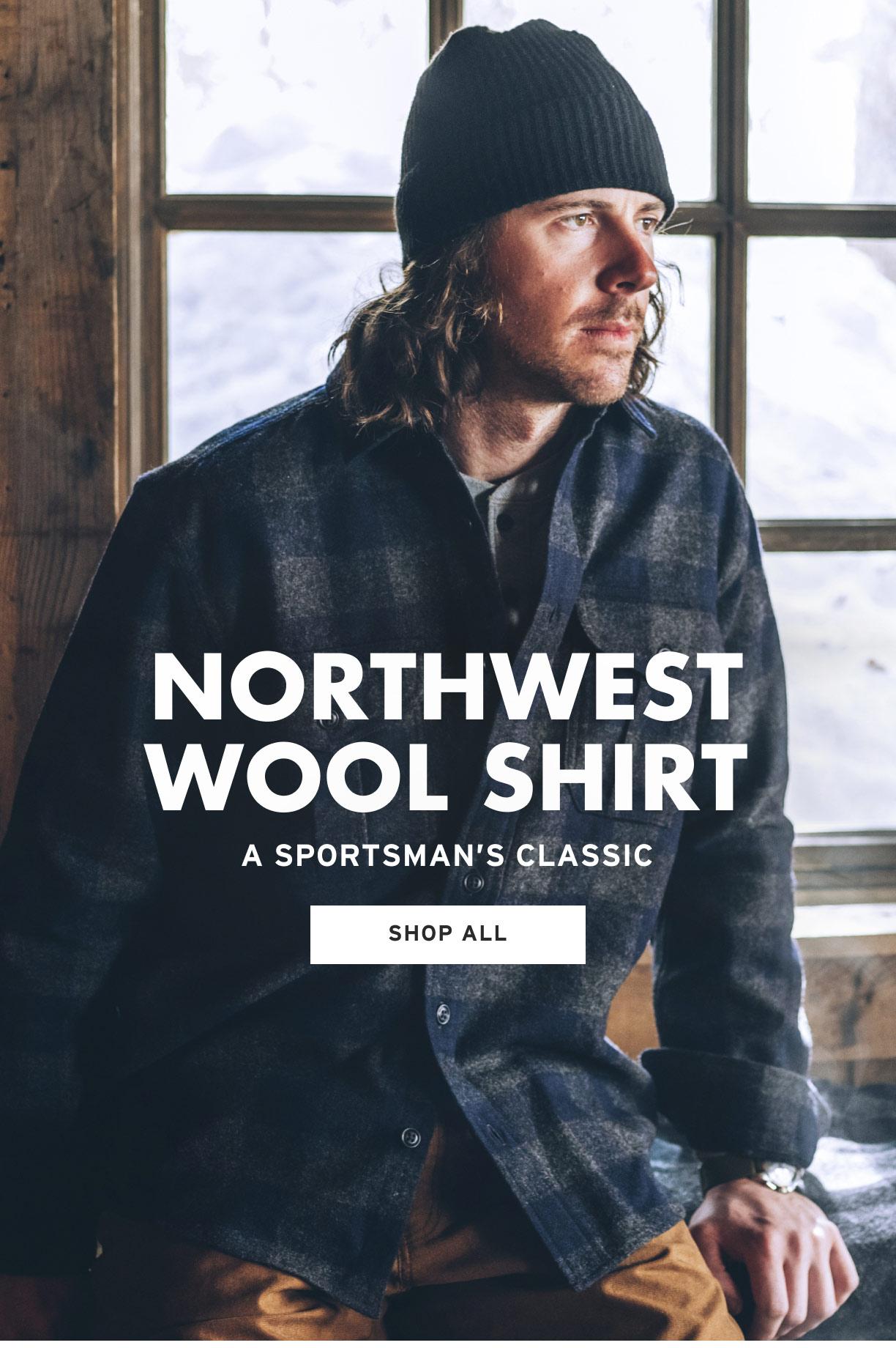 SHOP NORTHWEST WOOL SHIRTS