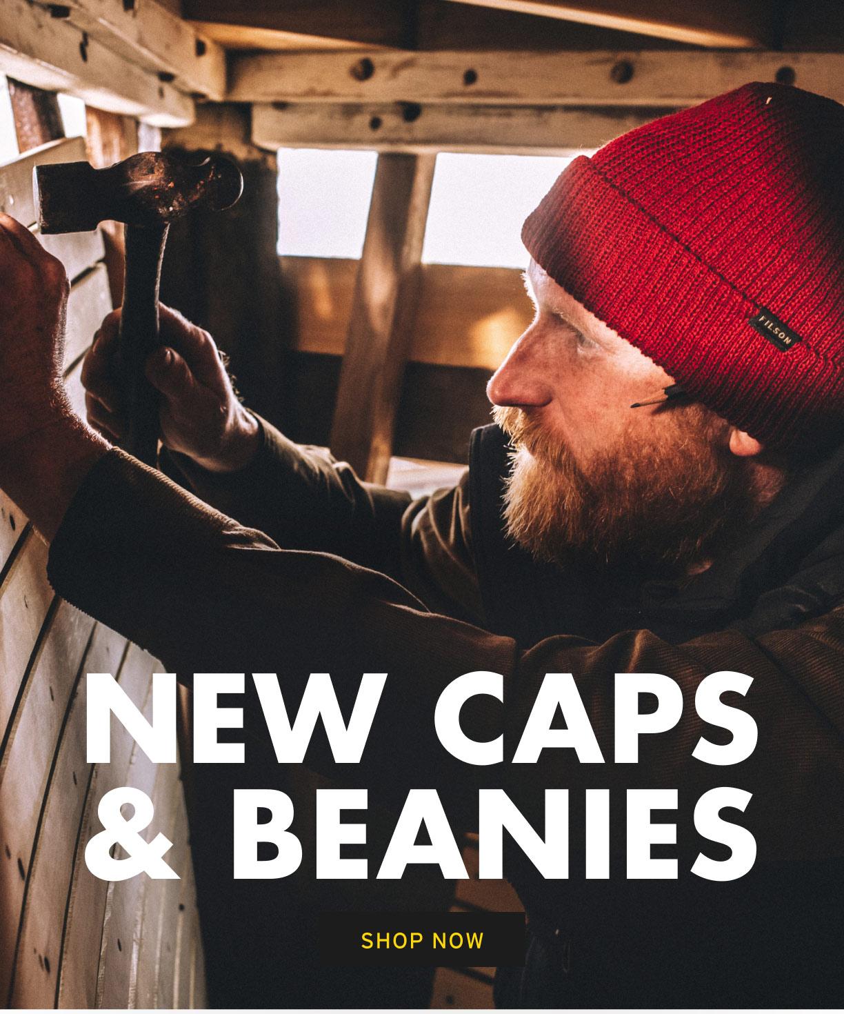 SHOP HATS & BEANIES