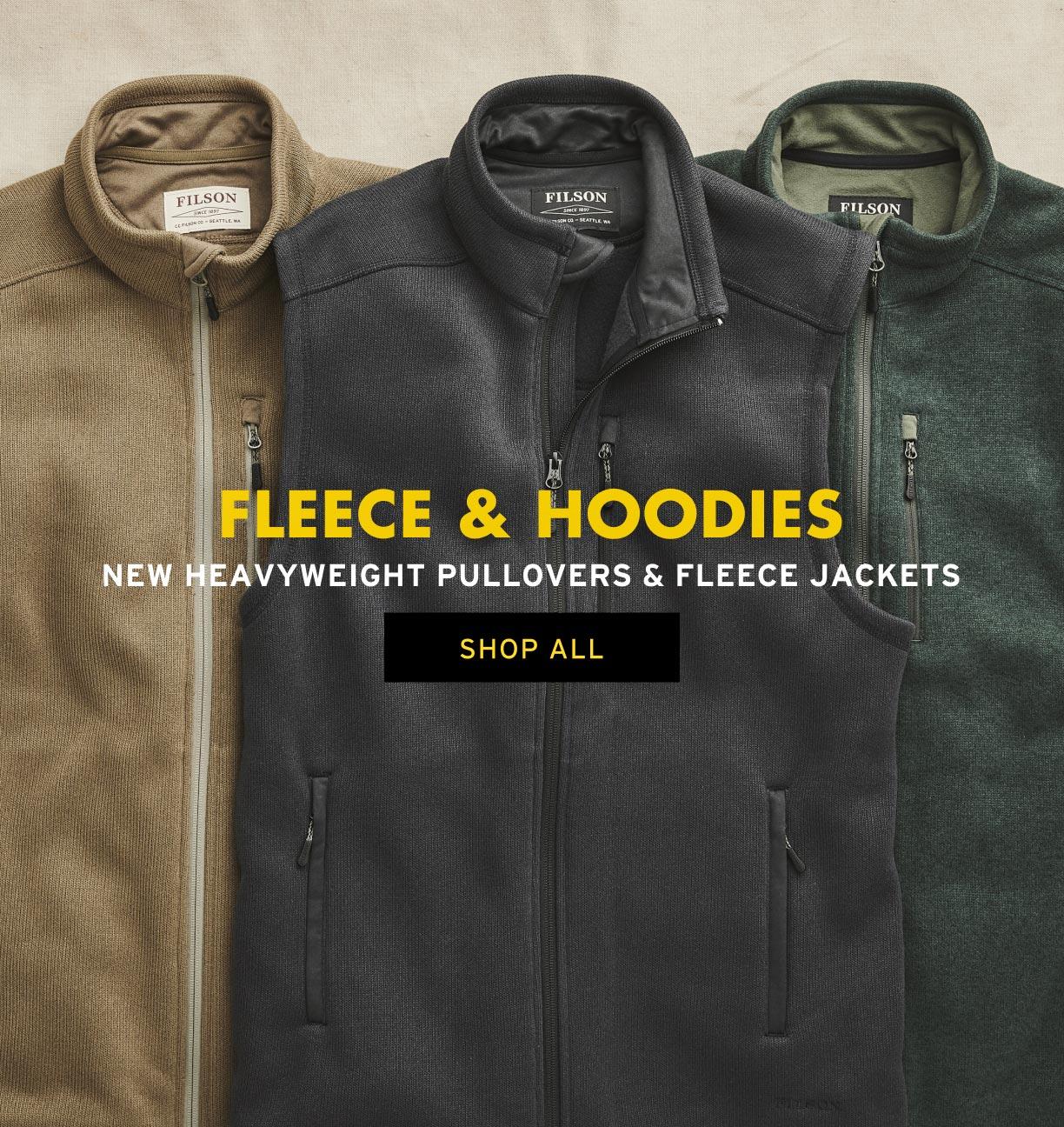 SHOP FLEECE & HOODIES
