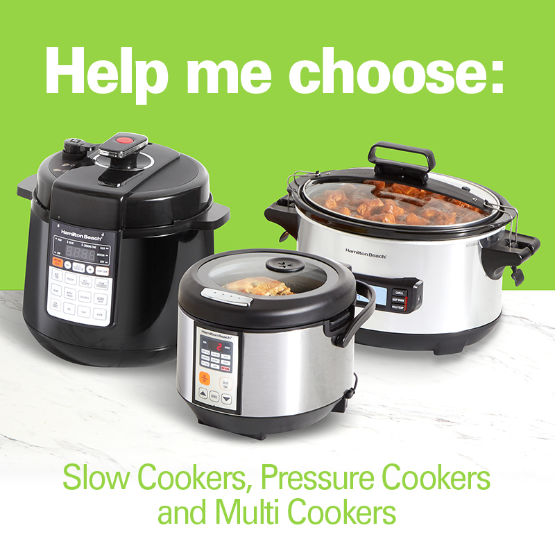 Help me choose: slow cookers, pressure cookers and multi cookers