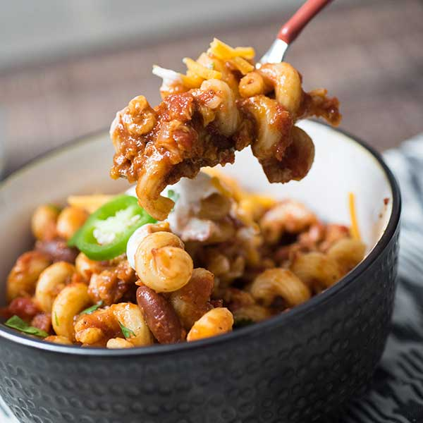 Multi Cooker Chili Mac