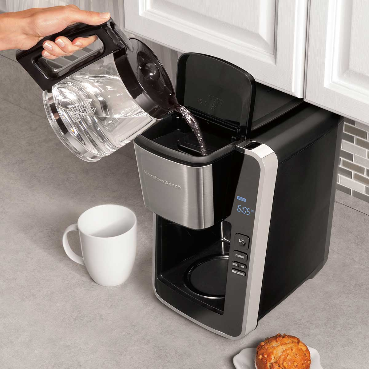FrontFill Coffee Maker