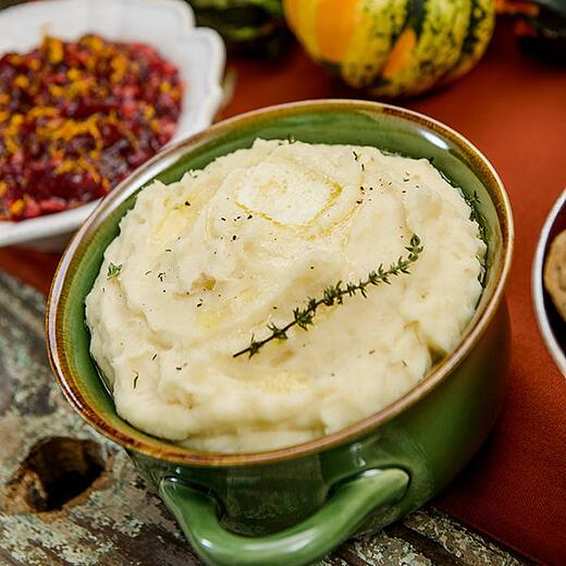 Slow Cooker Easy Mashed Potatoes