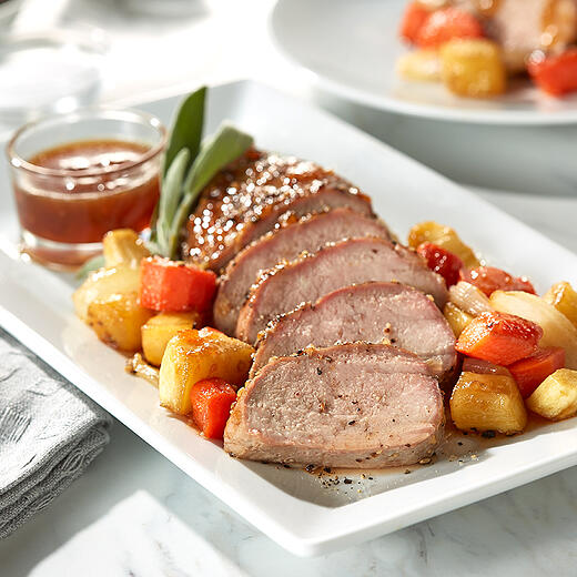 Glazed Pork Tenderloin
