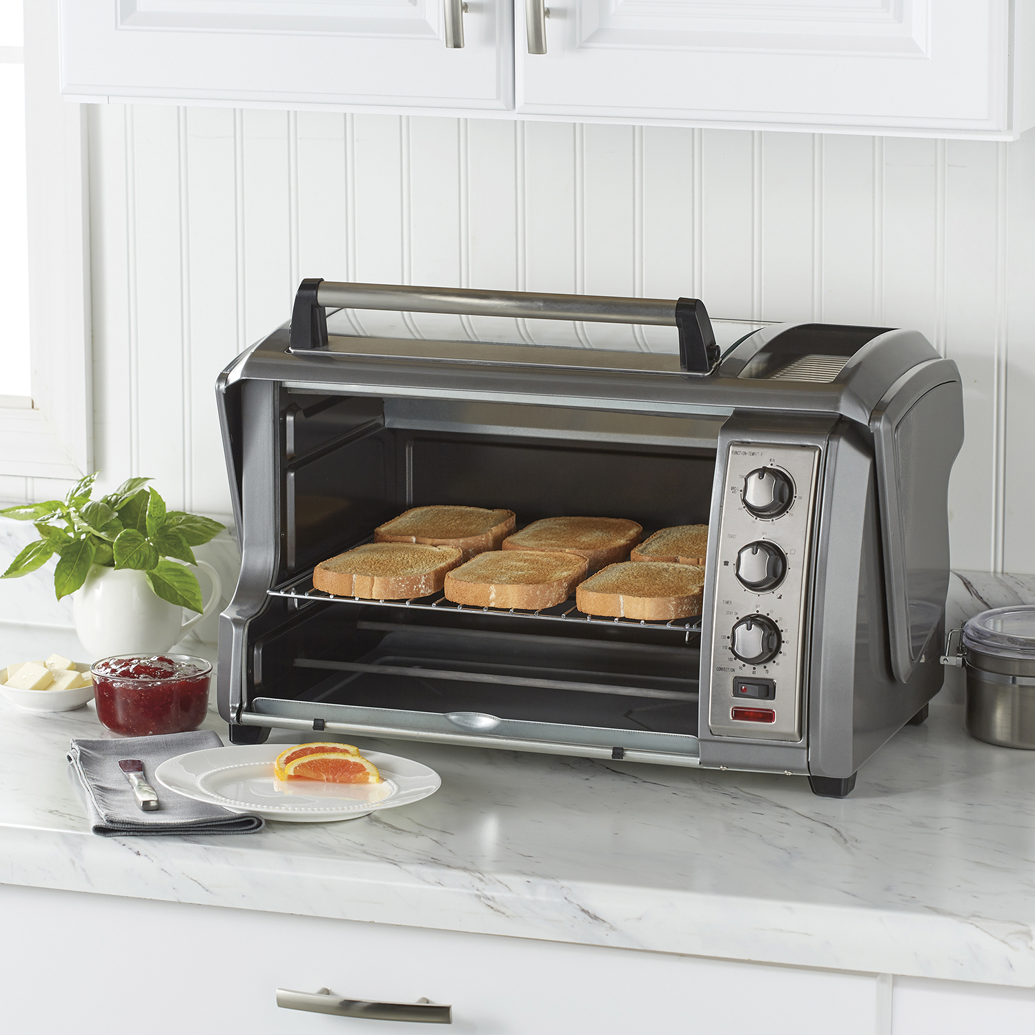 Enter to Win a 6 Slice Easy Reach®  Toaster Oven!