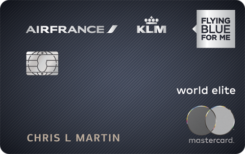 Tte NEW AIR FRANCE KLM World Elite Mastercard�