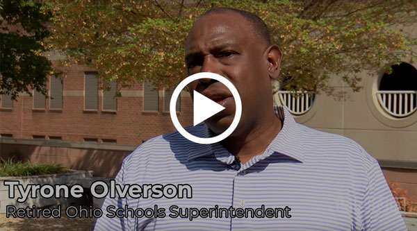 VIDEO: Tyrone Olverson, Alum