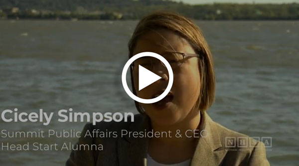 VIDEO: Cicely Simpson, Alum