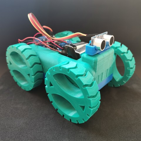 Robotic Car by AlmasRobotics