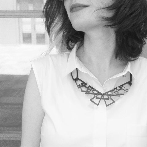 Geometric Necklace by BoniBond