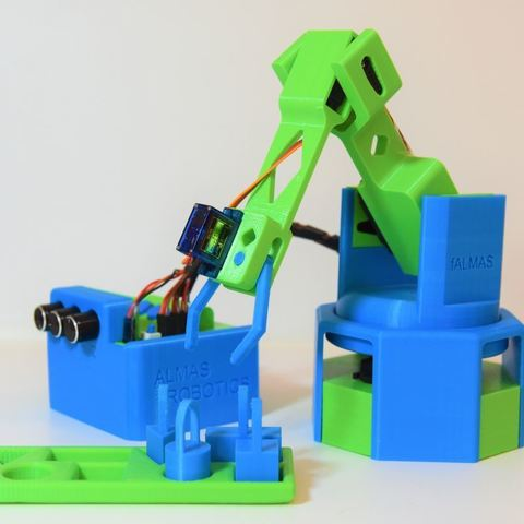 Robotic Arm by AlmasRobotics