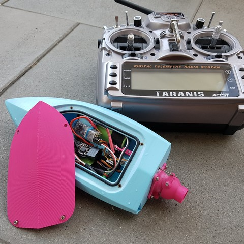 RC Mini Jet Boat by JTronics