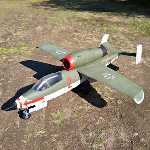 Giant Heinkel RC Jet by Tahustvedt
