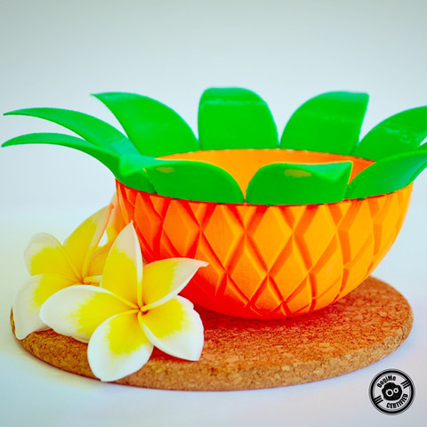 Pineapple Bowl by Oogime