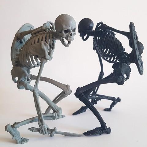 Evil Skeleton Warrior by Armians