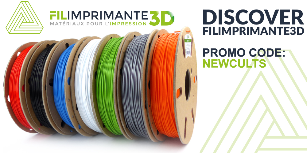 Discover FILIMPRIMANTE3D, the filament reference for 3D printing.