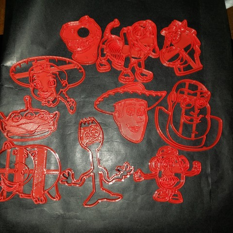 Toy Story 4 Cookie Cutter by calaverasydiablitos1979